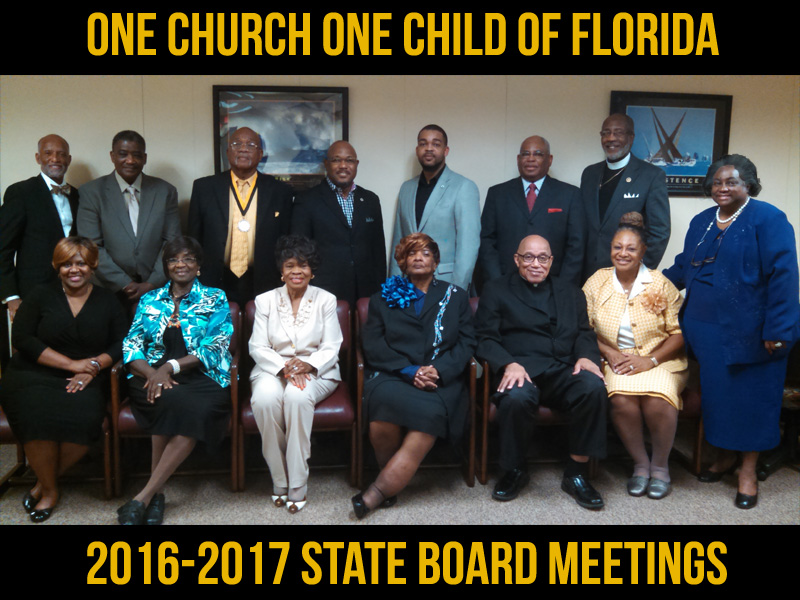 OCOC of Florida State Board and Executive Committee Meeting Schedule 2016-2017